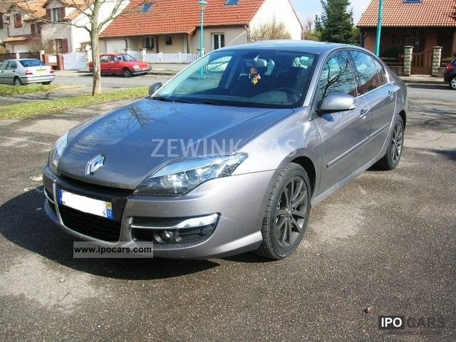 2011 Renault Laguna Iii 20 Dci 130 Gt 4control 5 Car Photo And