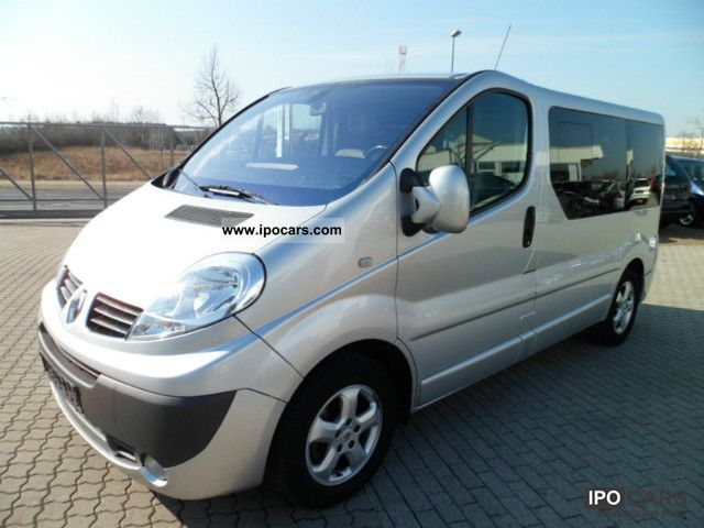 2006 renault trafic 2 5 dci generation multivan with navi car photo and specs. Black Bedroom Furniture Sets. Home Design Ideas