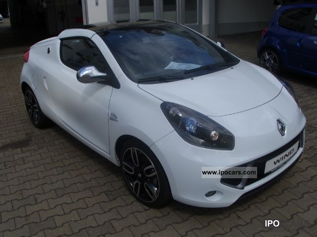 2010 Renault Wind 1.6 16V 133 Night & Day Leather, Klimaautom. Cabrio ...