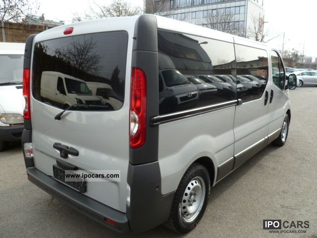 2009 renault trafic 2 0 dci 115 evado car photo and specs. Black Bedroom Furniture Sets. Home Design Ideas
