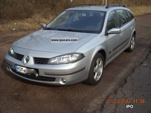 2005 renault laguna 2 0 16v emotion car photo and specs. Black Bedroom Furniture Sets. Home Design Ideas