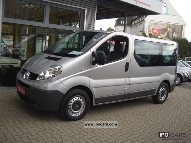 2008 renault trafic 2 0 dci 9 seater combi passenger car photo and specs. Black Bedroom Furniture Sets. Home Design Ideas