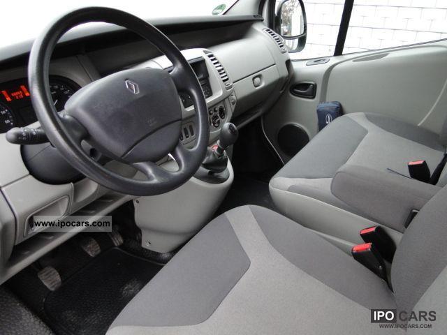2008 Renault Trafic 2 0 Dci 115 Combi Passenger L1h1 6