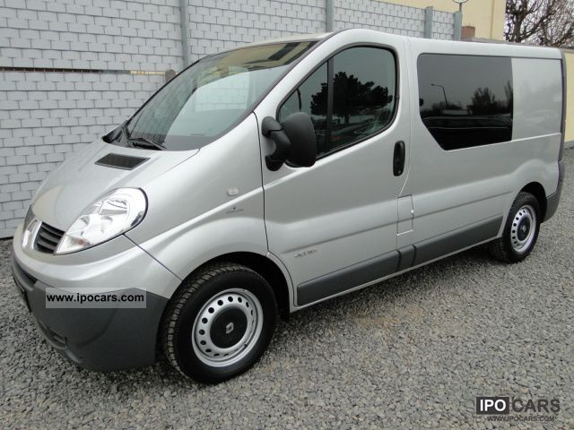 2008 renault trafic 2 0 dci 115 combi passenger l1h1 6. Black Bedroom Furniture Sets. Home Design Ideas