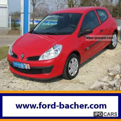 2007 renault clio 75hp 3door authentique radio cd climate car photo and specs. Black Bedroom Furniture Sets. Home Design Ideas
