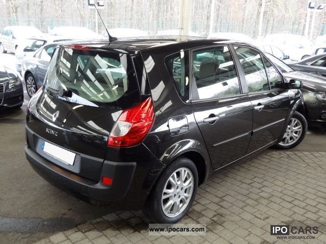 2009 renault scenic ii 2 1 5 dci 105 fap to pack pa car photo and specs. Black Bedroom Furniture Sets. Home Design Ideas