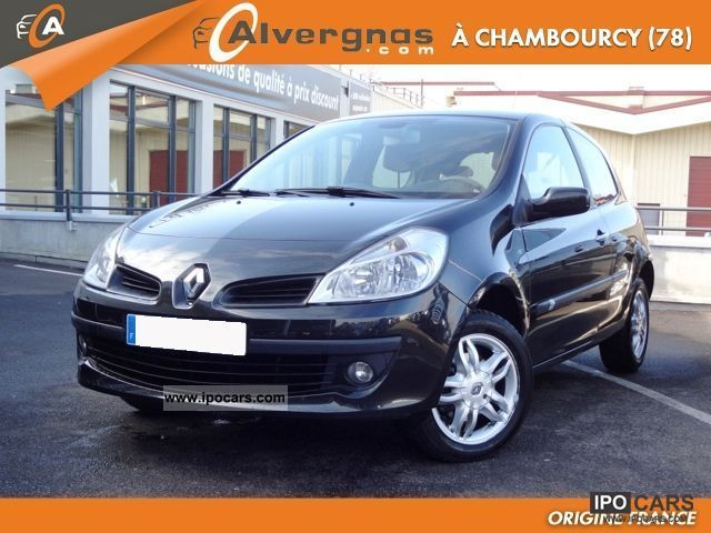 2007 renault clio iii 1 5 dci 105 privilege fap 3p car photo and specs. Black Bedroom Furniture Sets. Home Design Ideas
