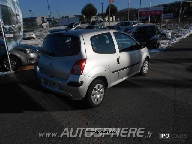 2007 renault twingo twingo ii 1 2 authentique 60 car photo and specs. Black Bedroom Furniture Sets. Home Design Ideas