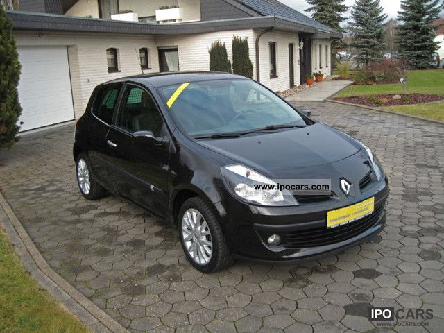 2007 renault clio 1 6 16v 82kw exception esp 112 hp car photo and specs. Black Bedroom Furniture Sets. Home Design Ideas
