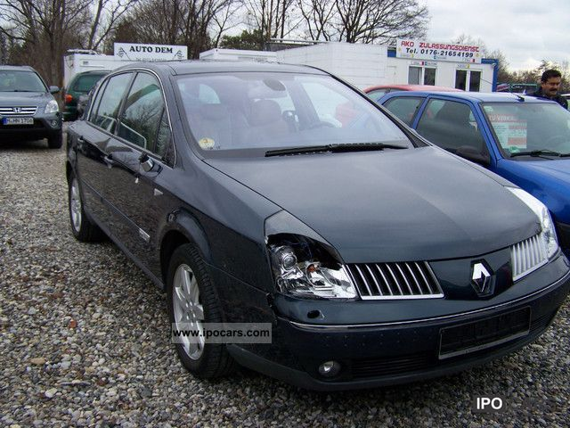 2002 renault vel satis 2 2 dci privilege car photo and specs. Black Bedroom Furniture Sets. Home Design Ideas