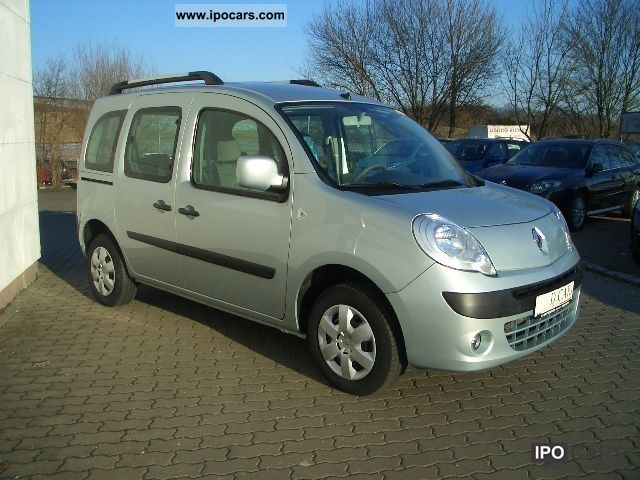 2010 renault kangoo dci 90 fap happy family car photo and specs. Black Bedroom Furniture Sets. Home Design Ideas