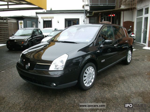 2005 renault vel satis 3 0 dci navi leather climate control car photo and specs. Black Bedroom Furniture Sets. Home Design Ideas