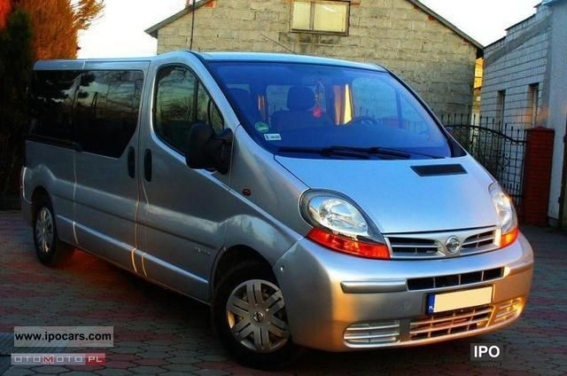2006 Renault  * Trafic DCI, 9 osob, climate, ideal, ZARJST Van / Minibus Used vehicle photo