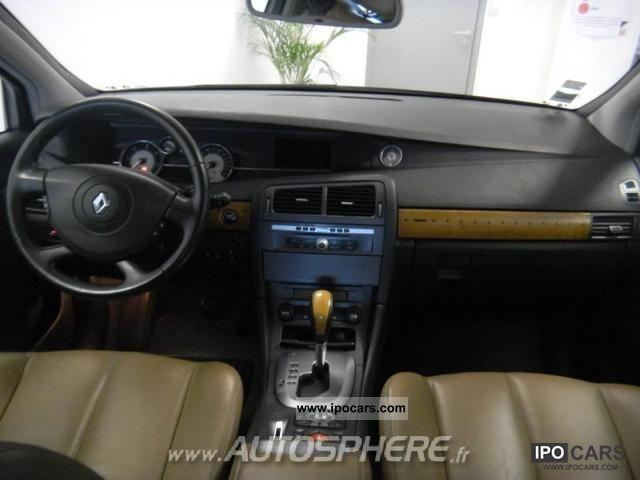 2006 renault vel satis 3 0 v6 dci ba6 car photo and specs. Black Bedroom Furniture Sets. Home Design Ideas