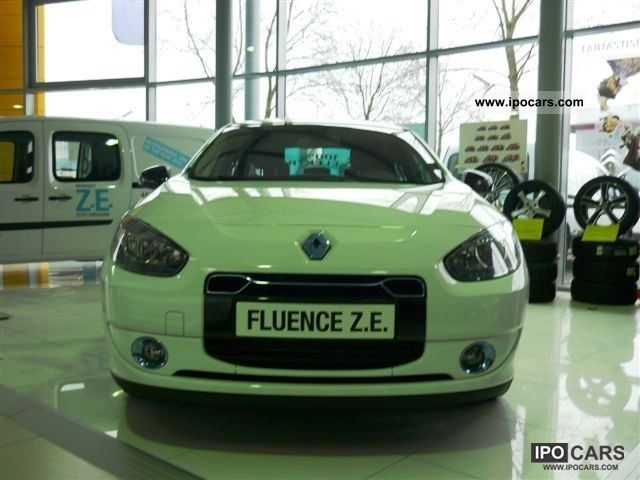 Renault  Fluence Pm 2012 Electric Cars photo