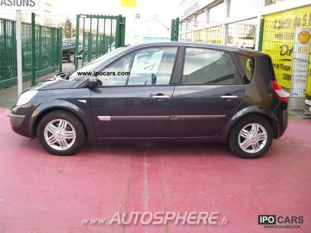 2006 renault dci125 fap scenic 1 9 exception ii car photo and specs. Black Bedroom Furniture Sets. Home Design Ideas