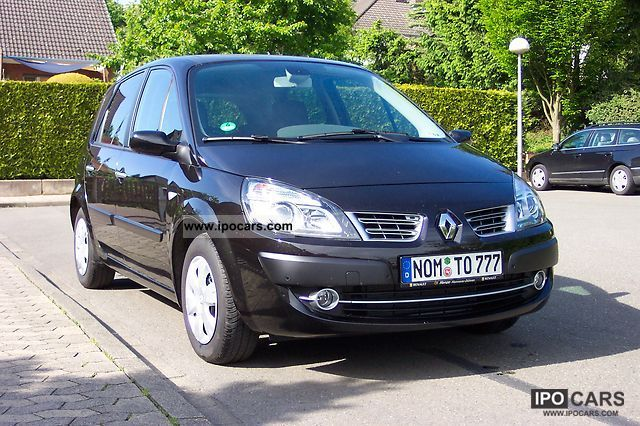 Renault  Scenic 1.6 16V Avantage 2009 Liquefied Petroleum Gas Cars (LPG, GPL, propane) photo