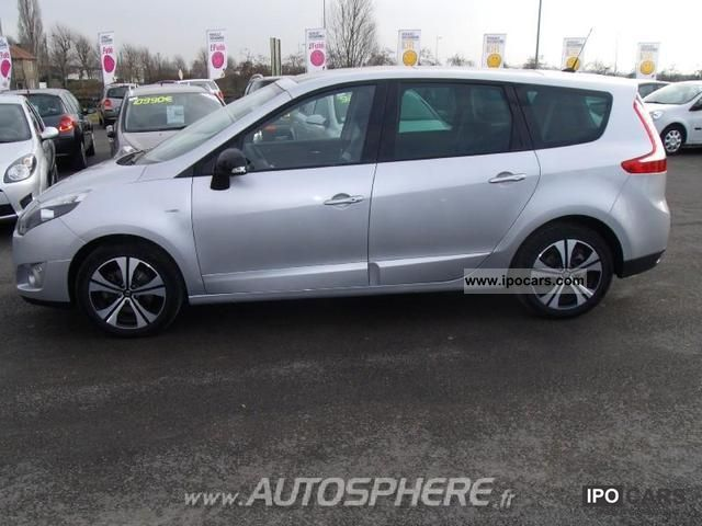 2011 renault grand scenic 1 9 dci130 fap euro 5 7 bose. Black Bedroom Furniture Sets. Home Design Ideas