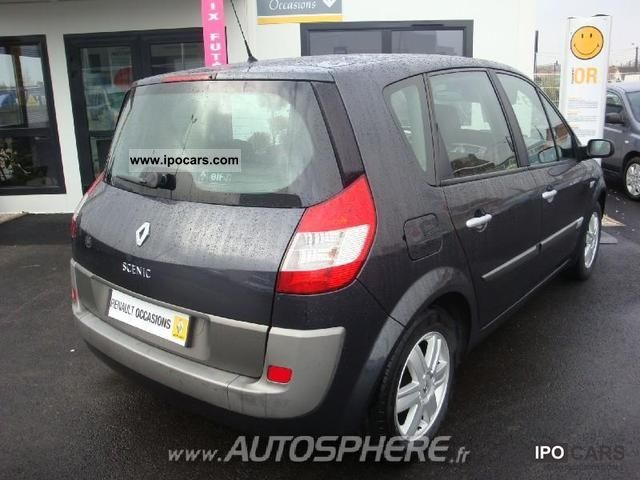 2006 renault scenic ii 1 9 dci related infomation specifications weili automotive network. Black Bedroom Furniture Sets. Home Design Ideas