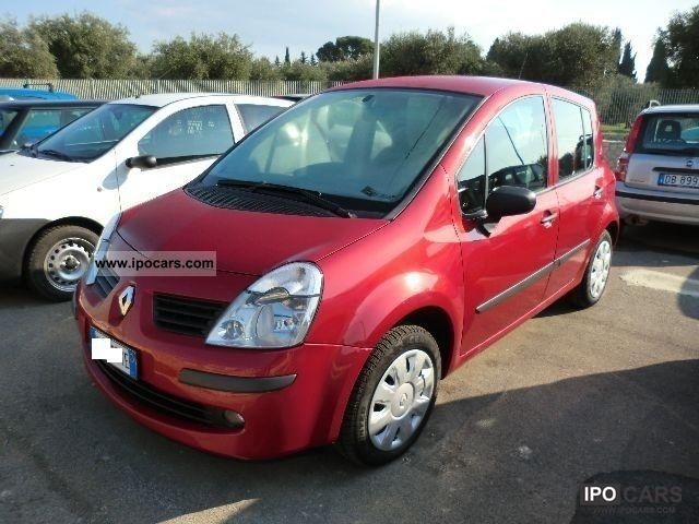 2007 renault modus 1 5 dci privilege car photo and specs. Black Bedroom Furniture Sets. Home Design Ideas