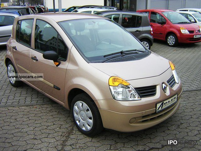2005 renault modus 1 2 authentique climate car photo and specs. Black Bedroom Furniture Sets. Home Design Ideas