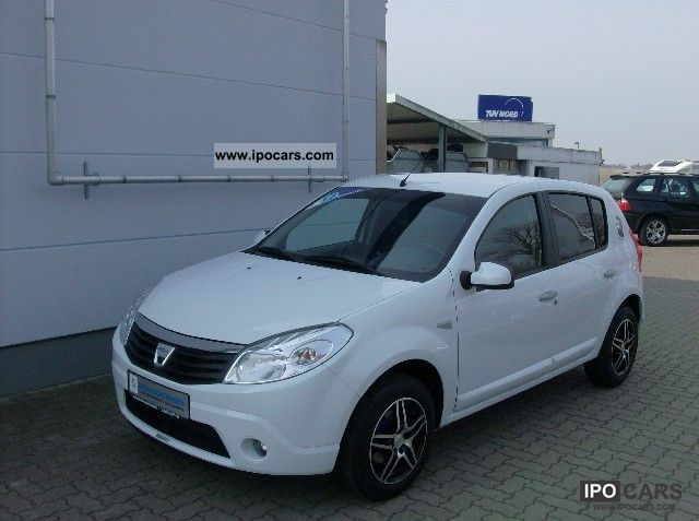 2008 Renault Dacia Sandero Car Photo And Specs