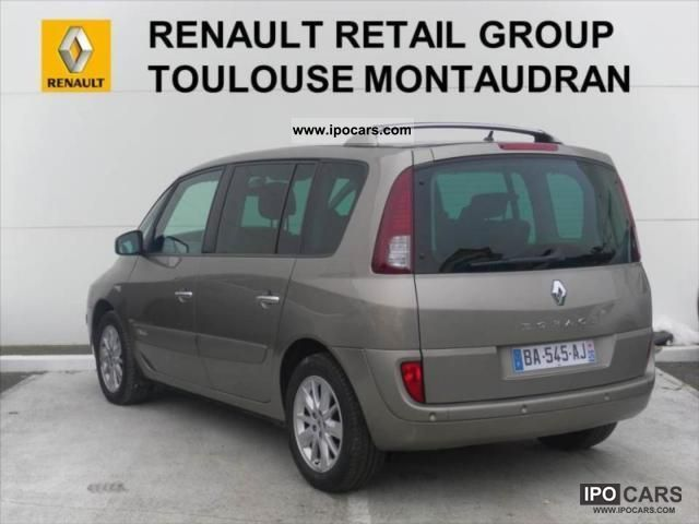 2010 renault espace 2 0 dci 150 alyum car photo and specs. Black Bedroom Furniture Sets. Home Design Ideas