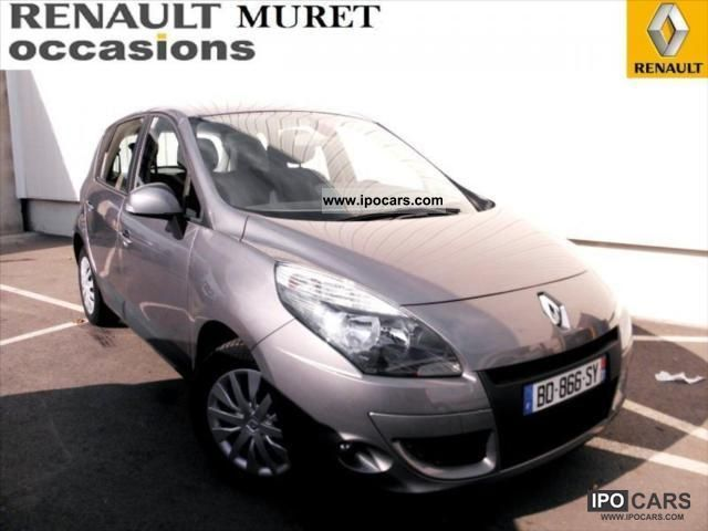 2010 renault scenic iii expression dci 110 fap euro 5 eco2 car photo and specs. Black Bedroom Furniture Sets. Home Design Ideas