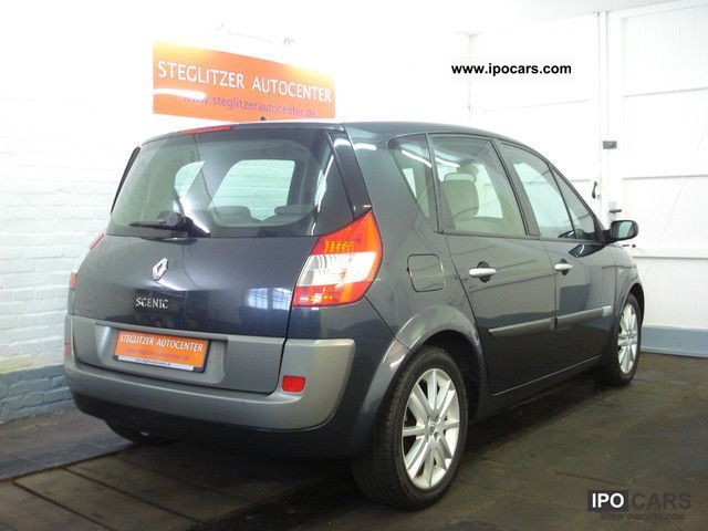 2006 renault scenic climate control leather car photo and specs. Black Bedroom Furniture Sets. Home Design Ideas
