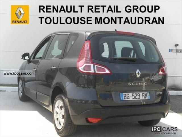 2011 renault scenic dci 95 fap iii eco2 authentique 5 car photo and specs. Black Bedroom Furniture Sets. Home Design Ideas