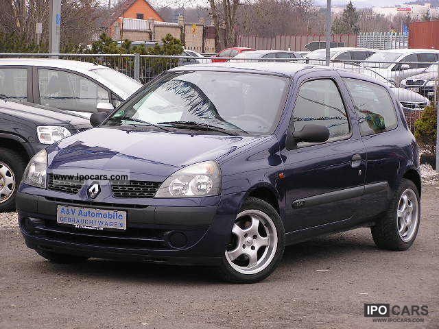 2001 renault clio 2 1 16v sporty car photo and specs. Black Bedroom Furniture Sets. Home Design Ideas
