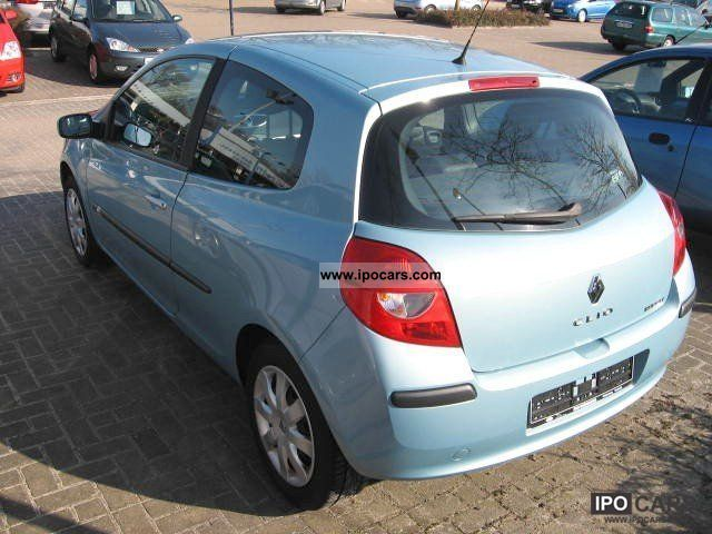 2007 renault clio dynamique 1 6 edition 3 door car photo and specs. Black Bedroom Furniture Sets. Home Design Ideas