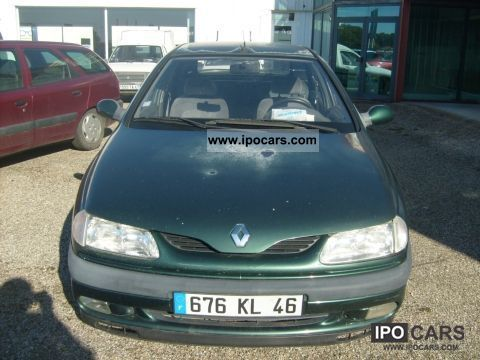 1995 Renault  LAGUNA 2.2D RNE Limousine Used vehicle photo