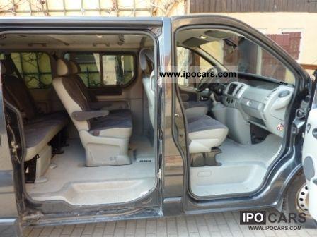 2006 Renault Trafic 2 5 Dci 150 Fap Passenger L1h1