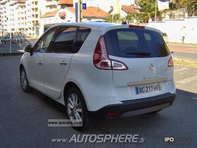 2010 renault fap scenic 2 0 dci150 privil ge ba car photo and specs. Black Bedroom Furniture Sets. Home Design Ideas