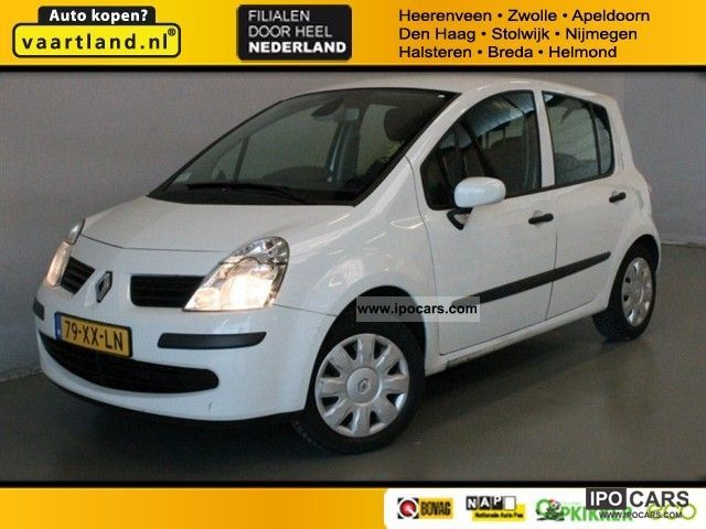 2007 Renault  Mode (J) 1.4-16V 98PK air [climate co Van / Minibus Used vehicle photo