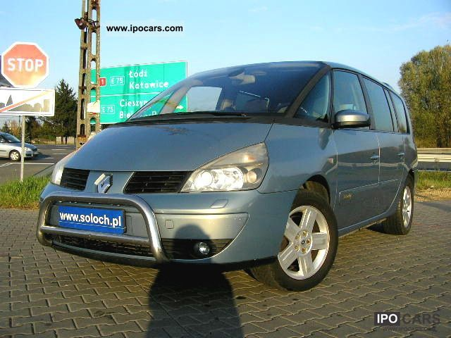 2003 renault grand espace 2 2 dci klimatr bdb stan car photo and specs. Black Bedroom Furniture Sets. Home Design Ideas
