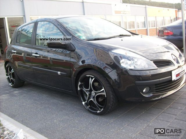 2007 renault clio 1 6 16v car photo and specs. Black Bedroom Furniture Sets. Home Design Ideas