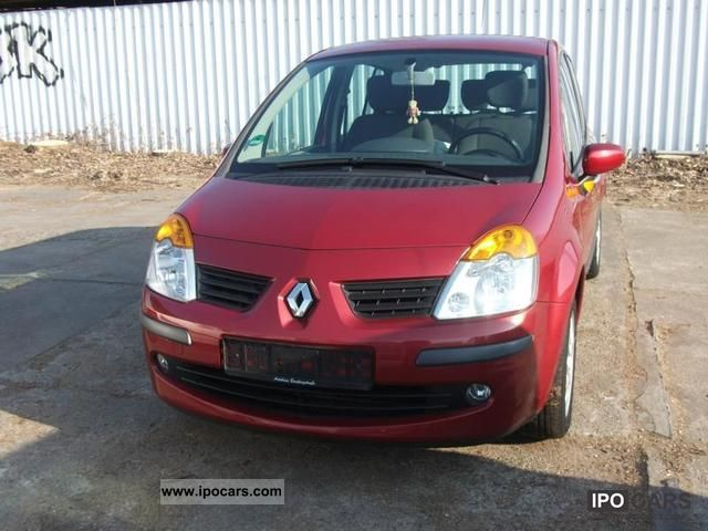 2005 renault modus 1 4 16v car photo and specs. Black Bedroom Furniture Sets. Home Design Ideas