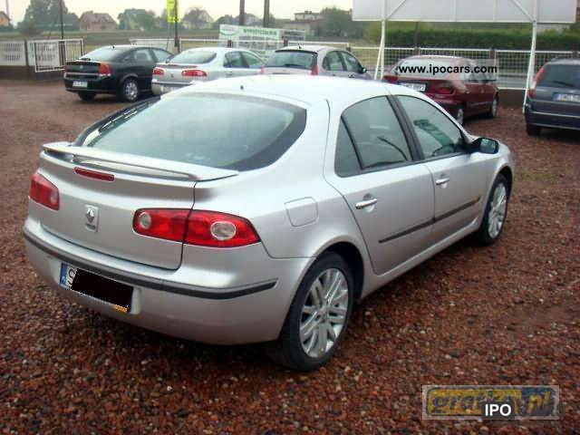 2005 renault laguna car photo and specs. Black Bedroom Furniture Sets. Home Design Ideas
