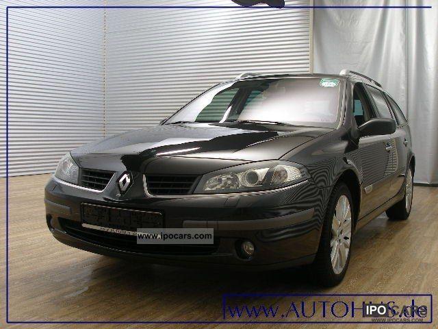 2007 Renault  Laguna Estate 1.9 DCI NAVI XENON PDC AHK Estate Car Used vehicle photo