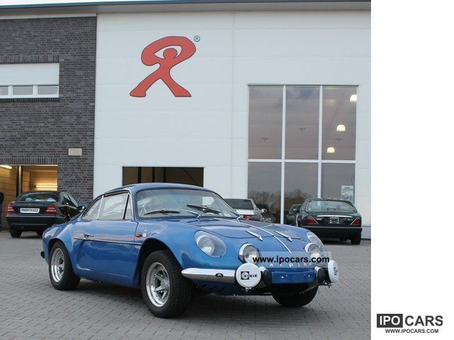 Renault  Alpine A110 1966 Vintage, Classic and Old Cars photo