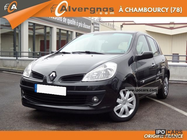 2007 renault clio iii 1 5 dci 105 dynamique 5p car photo and specs. Black Bedroom Furniture Sets. Home Design Ideas
