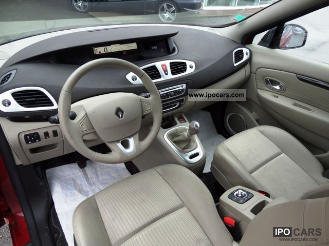 2010 renault scenic iii 1 9 dci 130 privilege car photo. Black Bedroom Furniture Sets. Home Design Ideas