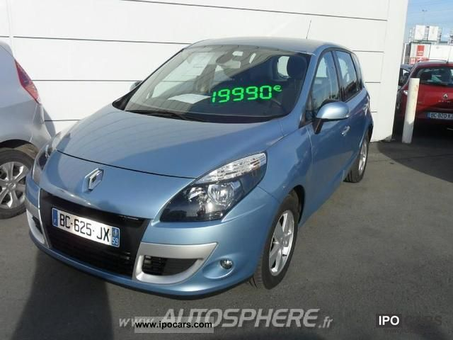 2011 renault scenic 1 9 dynamique dci130 fap euro5 car photo and specs. Black Bedroom Furniture Sets. Home Design Ideas
