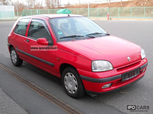 1997 renault clio 1 4 automatic power limited 77tkm only car photo and specs. Black Bedroom Furniture Sets. Home Design Ideas