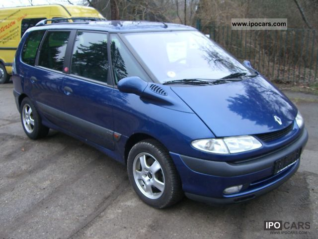 2002 renault espace 2 2 dci air car mot new euro 3 apc. Black Bedroom Furniture Sets. Home Design Ideas