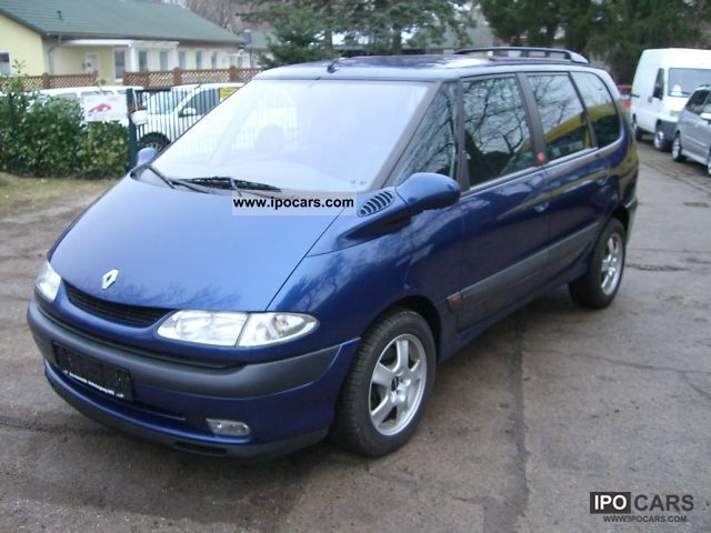 2002 renault espace 2 2 dci air car mot new euro 3 apc car photo and specs. Black Bedroom Furniture Sets. Home Design Ideas