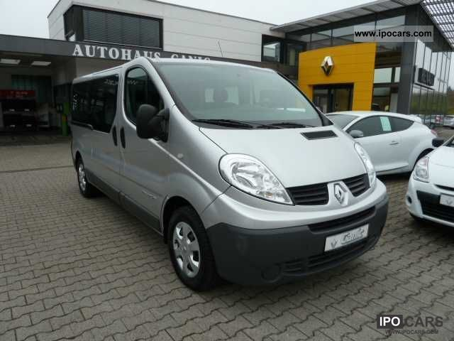 2011 renault trafic combi 2 0 dci 115 l2h1 2 9 t 9 seater. Black Bedroom Furniture Sets. Home Design Ideas