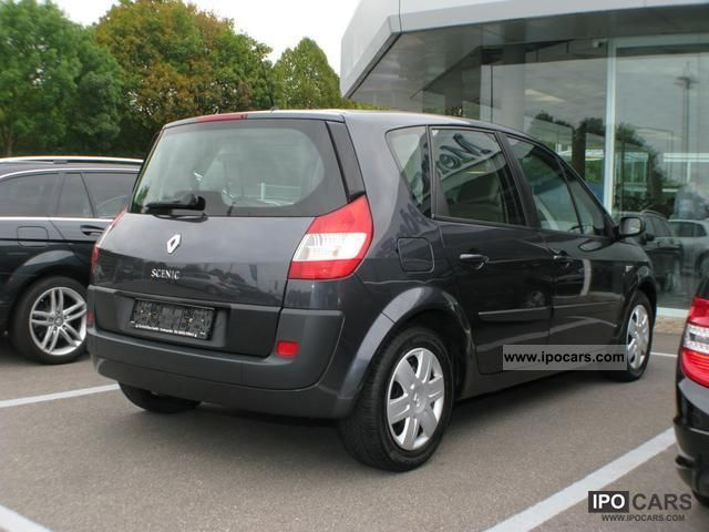 2006 renault scenic 1 9 dci fap car photo and specs. Black Bedroom Furniture Sets. Home Design Ideas
